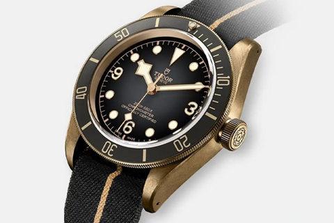 Rock Grey Tudor Black Bay Bronze Watch