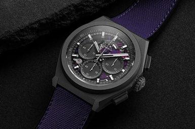 Purple Zenith Defy 21 Watch